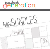 MINI-BUNDLE: August 2015 - Summer - One Page