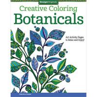 Design Originals Creative Coloring Book: Botanicals