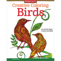 Design Originals Creative Coloring Book: Birds