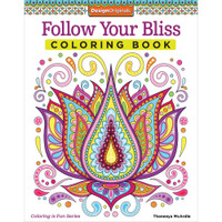 Design Originals Creative Coloring Book: Follow Your Bliss