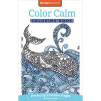 Design Originals Perfectly Portable Pages Coloring Book: Color Calm