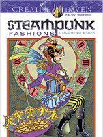 Creative Haven Coloring Book: Steampunk Fashions
