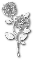 Memory Box Dies: English Rose Stem