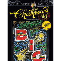 Creative Haven Coloring Book: Chalkboard Art