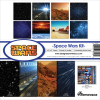 Reminisce Space Wars 12x12 Collection Kit