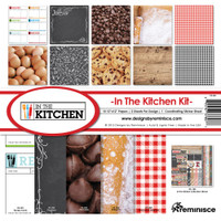 Reminisce In The Kitchen 12x12 Collection Kit