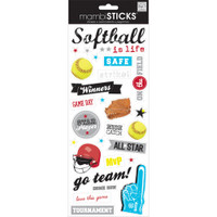 MAMBI Specialty Stickers: Softball Game Day