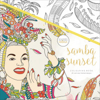 KaiserColour Perfect Bound Colouring Book: Samba Sunset