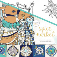 KaiserColour Perfect Bound Colouring Book: Spice Market
