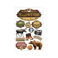Paper House Productions Discover USA 3D Stickers: Yellowstone