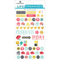 Paper House Productions Life Organized Stickers: Family