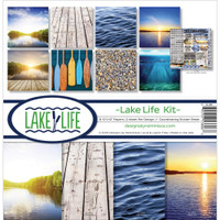 Reminisce Lake Life 12x12 Collection Pack