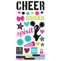 Simple Stories Cheer Simple Set 6x12 Sticker