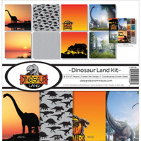 Reminisce 12x12 Collection Pack: Dinosaur Land