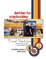 Sketches for Scrapbooking: Travel Sketches