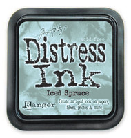 Distress Ink Pad: Iced Spruce