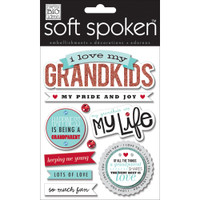 Soft Spoken Stickers: Grandkids