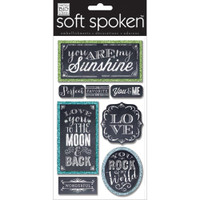 Soft Spoken Stickers: My Sunshine