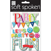 Soft Spoken Stickers: Party Time