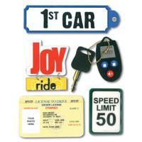 Soft Spoken Stickers: 1st Car