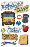 Paper House 3D Sticker: School Days