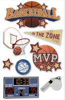 Paper House 3D Sticker: Basketball