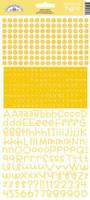 Teensy Type Cardstock Alphabet Stickers: Bumblebee