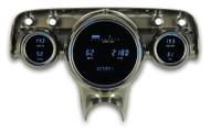 Dakota Digital 57 Chevy Car 6 Gauge Dash Cluster Instrument System VFD3-57C