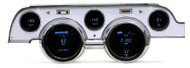 Dakota Digital 67 Ford Mustang 6 Gauge Dash Cluster w/ Brushed Bezel VFD3-67M-A