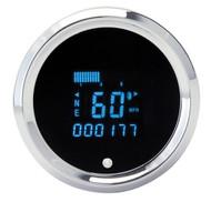 Dakota Digital Universal Round Speedometer Tachometer Combo Gauge SLX-01-6