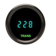 Dakota Digital Universal Round Transmission Temperature Gauge Teal ODYR-08-3