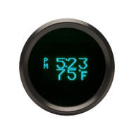 Dakota Digital Odyssey Series II Round Clock Date Temperature Gauge ODYR-16-1