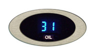 Dakota Digital ION Series Oil Pressure Gauge Oval Satin or Chrome Bezel ION-03-1