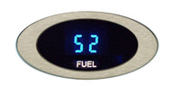 Dakota Digital ION Series Oval Satin or Chrome Bezel Fuel Level Gauge ION-06-1