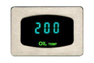 Dakota Digital Odyssey Series I Rectangle Bezel Oil Temperature Gauge ODY-07-1