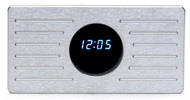 Dakota Digital 1935 - 1936 Ford aluminum clock panel w/ VFD clock - ALC-35-CLK