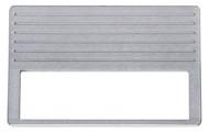 Dakota Digital 37 38 Chevy Aluminum Radio Panel (DIN Radio Opening) CALR-37-D