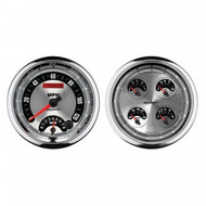 "Auto Meter American Muscle 5"" Quad Gauge Kit - 1205"