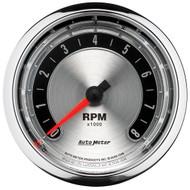 "Auto Meter American Muscle 3-3/8"" In-Dash Tachometer Gauge - 1298"