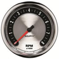 "Auto Meter American Muscle Universal 5"" In-Dash Tachometer Gauge - 1299"