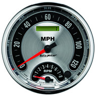 """Auto Meter American Muscle 5"""" Tachometer / Speedometer Combo Gauge - 1295"""