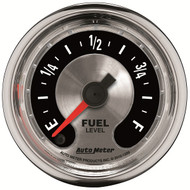 "Auto Meter American Muscle Universal 2-1/16"" Fuel Level Gauge - 1209"