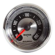 "Auto Meter American Muscle Universal 2-1/16"" Water Temperature Gauge - 1255"