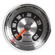 "Auto Meter American Muscle Universal 2-1/16"" Water Temperature 100-240 °F - 1232"