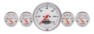 Arctic White 5 pc Gauge Kit 1340