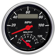 Designer Black Tach/Speedo Gauge 1481