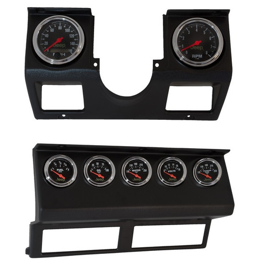Jeep Wrangler Digital Gauges : Auto meter complete instrument kit for jeep wrangler