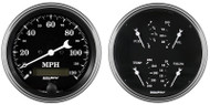 "Auto Meter Old Tyme Black 2 pc 5"" Gauge Kit 1703"