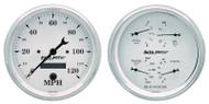 """Auto Meter Old-Tyme White 2 pc 5"""" Gauge Kit - 1603"""