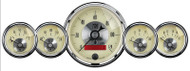 Auto Meter Prestige Antique Ivory 5 pc Gauge Kit 2000